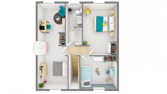Maison+Terrain à vendre .(101 m²)(COULAINES) avec (Maisons Phénix Le Mans)