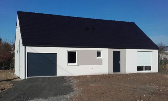 Maison+Terrain à vendre .(90 m²)(VION) avec (Maisons Phénix Le Mans)