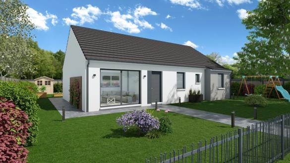 Maison+Terrain à vendre .(105 m²)(CHAMPFLEUR) avec (Maisons Phénix Le Mans)