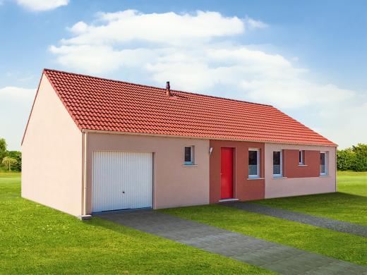 Maison+Terrain à vendre .(110 m²)(DOMFRONT EN CHAMPAGNE) avec (Maisons Phénix Le Mans)