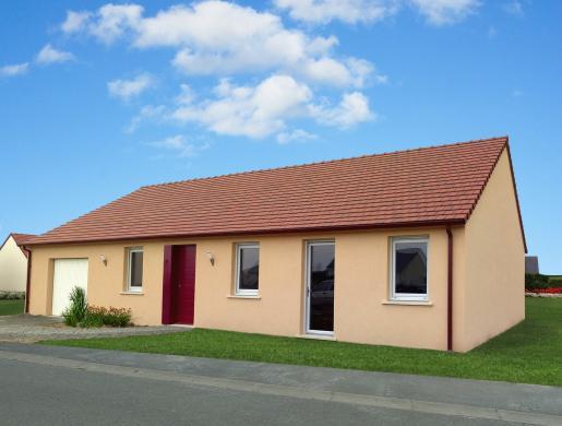 Maison+Terrain à vendre .(100 m²)(SAINT GEORGES DU BOIS) avec (Maisons Phénix Le Mans)