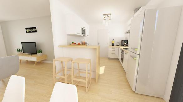 Maison+Terrain à vendre .(102 m²)(GUECELARD) avec (Maisons Phénix Le Mans)