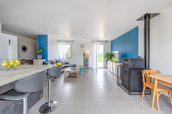 Maison+Terrain à vendre .(93 m²)(VILLAINES SOUS MALICORNE) avec (Maisons Phénix Le Mans)