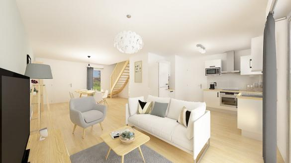 Maison+Terrain à vendre .(101 m²)(LE MANS) avec (Maisons Phénix Le Mans)