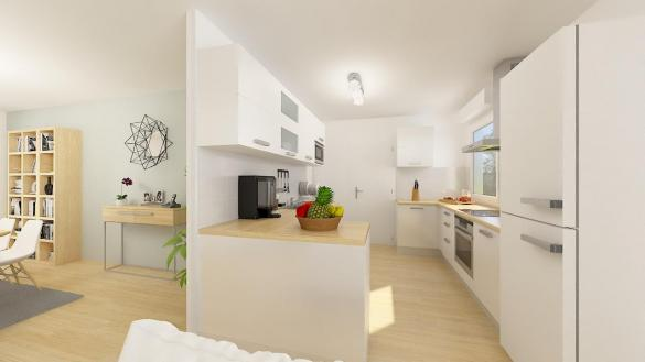 Maison+Terrain à vendre .(102 m²)(MARCILLY SUR VIENNE) avec (Maisons Phénix Tours)