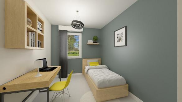Maison+Terrain à vendre .(102 m²)(CHINON) avec (Maisons Phénix Tours)