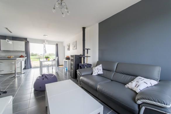 Maison+Terrain à vendre .(90 m²)(YZEURES SUR CREUSE) avec (Maisons Phénix Tours)