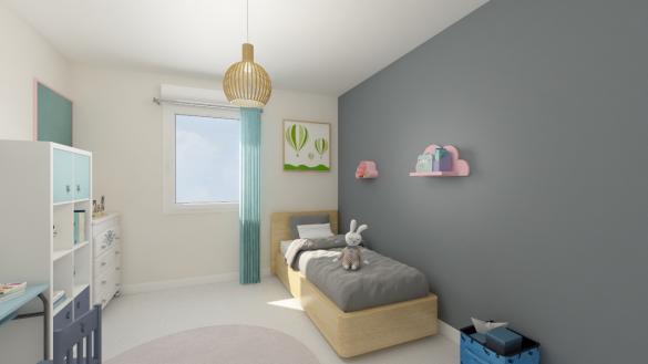 Maison+Terrain à vendre .(132 m²)(NOTRE DAME D'OE) avec (Maisons Phénix Tours)