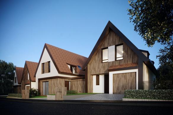 Maison+Terrain à vendre .(100 m²)(OTTROTT) avec (PERSPECTIVE)