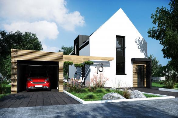 Maison+Terrain à vendre .(100 m²)(DRUSENHEIM) avec (PERSPECTIVE)