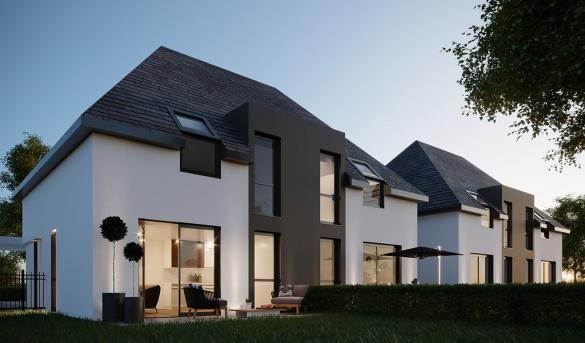 Maison à vendre .(84 m²)(LA WANTZENAU) avec (PERSPECTIVE)