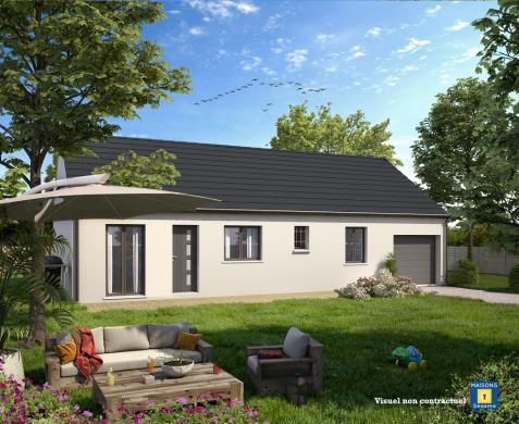 Maison+Terrain à vendre .(100 m²)(PRECY SUR OISE) avec (COFIDIM MAISONS SESAME)