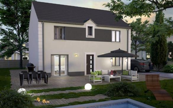 Maison+Terrain à vendre .(115 m²)(MERU) avec (COFIDIM MAISONS SESAME)