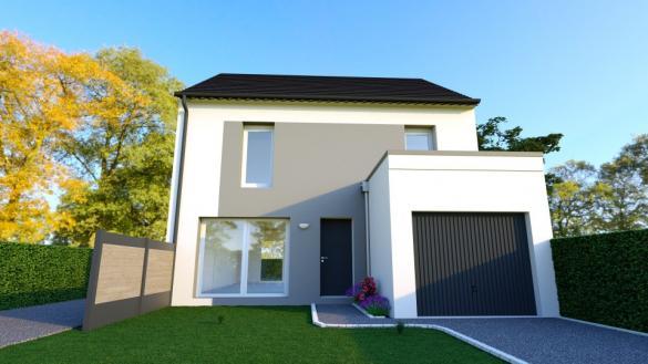 Maison+Terrain à vendre .(100 m²)(ATHIS MONS) avec (MAISONS FRANCE CONFORT)