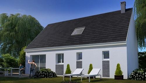 Maison+Terrain à vendre .(79 m²)(ROSIERES EN SANTERRE) avec (RESIDENCES PICARDES)
