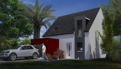 Maison+Terrain à vendre .(79 m²)(ENQUIN LES MINES) avec (HABITAT CONCEPT ST OMER)