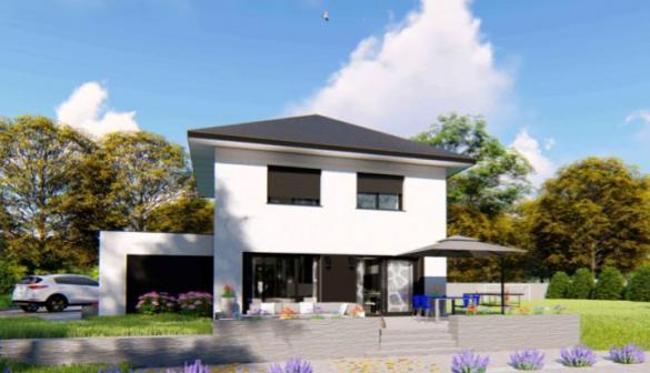 Maison à vendre .(115 m²)(NANCES) avec (DESIGN BATIMENT MAX IMMO)