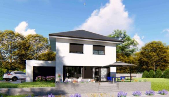 Maison à vendre .(90 m²)(VOIRON) avec (DESIGN BATIMENT MAX IMMO)