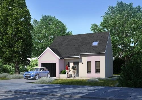 Maison+Terrain à vendre .(64 m²)(WILLERVAL) avec (HABITAT CONCEPT BETHUNE)
