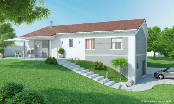 Maison+Terrain à vendre .(80 m²)(BEAUREGARD) avec (MAISONS AXIAL)