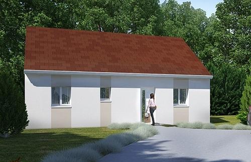Maison+Terrain à vendre .(75 m²)(VAUDESSON) avec (RESIDENCES PICARDES SOISSONS)