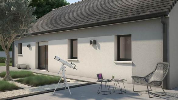 Maison+Terrain à vendre .(76 m²)(CHAUFOUR LES BONNIERES) avec (MAISONS FRANCE CONFORT)
