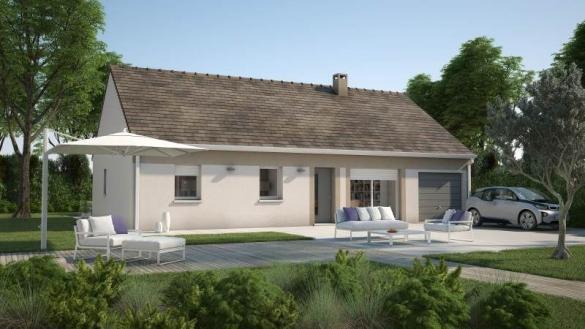 Maison+Terrain à vendre .(65 m²)(VERNON) avec (MAISONS FRANCE CONFORT)