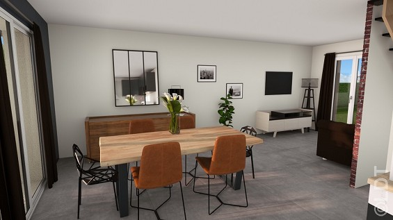Maison à vendre .(84 m²)(SAINTE GENEVIEVE DES BOIS) avec (GROUPE LESTERLIN)