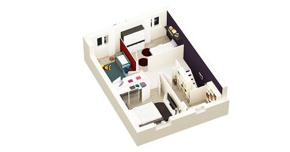 Maison à vendre .(67 m²)(RIVERY) avec (GROUPE LESTERLIN)