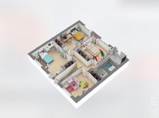 Maison à vendre .(125 m²)(TOURNAN EN BRIE) avec (GROUPE LESTERLIN)