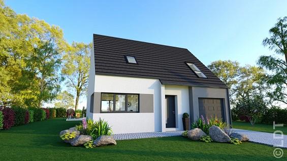 Maison à vendre .(91 m²)(CORBIE) avec (GROUPE LESTERLIN)