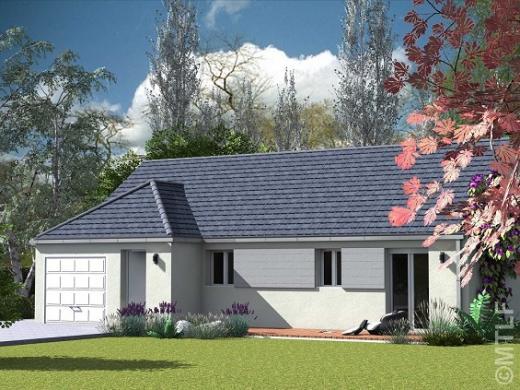 Maison à vendre .(77 m²)(ALBERT) avec (GROUPE LESTERLIN)