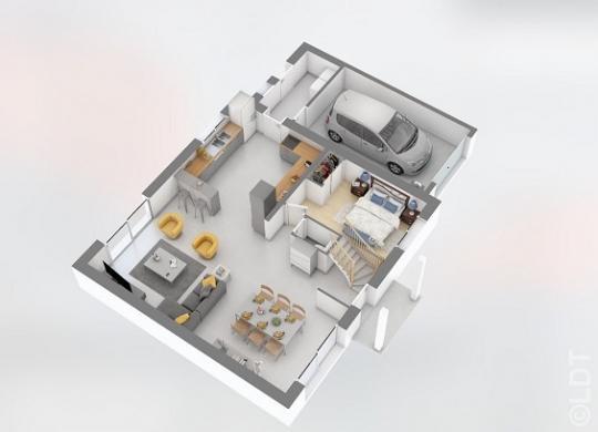 Maison à vendre .(125 m²)(RUMIGNY) avec (GROUPE LESTERLIN)