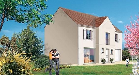 Maison à vendre .(110 m²)(LE MESNIL AUBRY) avec (GROUPE LESTERLIN)