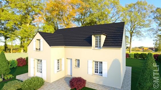 Maison à vendre .(118 m²)(LE MESNIL AUBRY) avec (GROUPE LESTERLIN)