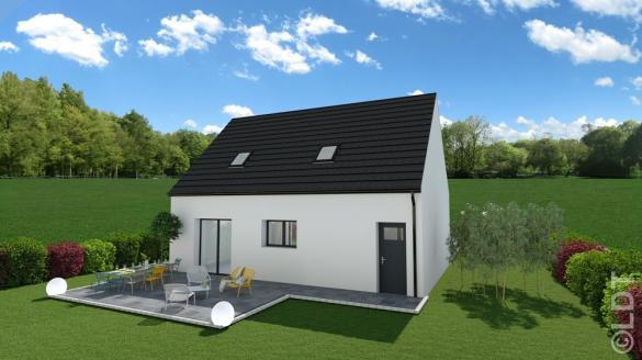 Maison à vendre .(83 m²)(CORBIE) avec (GROUPE LESTERLIN)