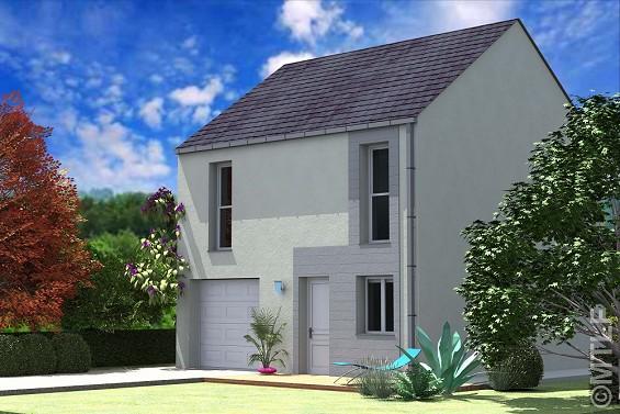 Maison à vendre .(78 m²)(SAINT GERMAIN LES ARPAJON) avec (GROUPE LESTERLIN)