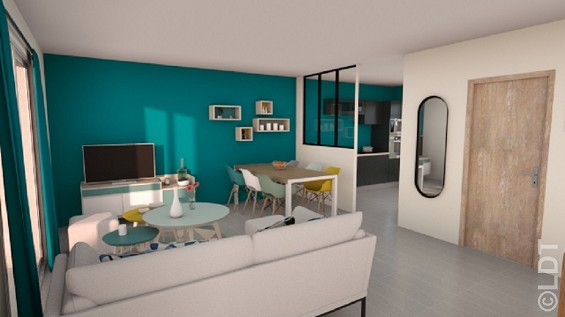 Maison à vendre .(70 m²)(DERNANCOURT) avec (GROUPE LESTERLIN)