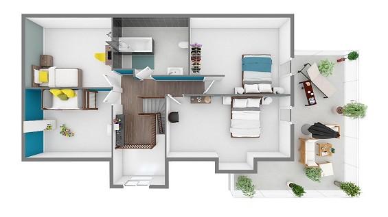 Maison à vendre .(142 m²)(RUMIGNY) avec (GROUPE LESTERLIN)