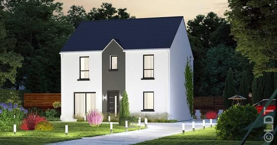 Maison à vendre .(117 m²)(DOMMARTIN) avec (GROUPE LESTERLIN)