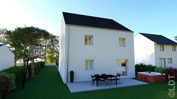 Maison à vendre .(95 m²)(VILLEVAUDE) avec (GROUPE LESTERLIN)