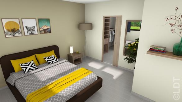 Maison à vendre .(73 m²)(VILLEVAUDE) avec (GROUPE LESTERLIN)
