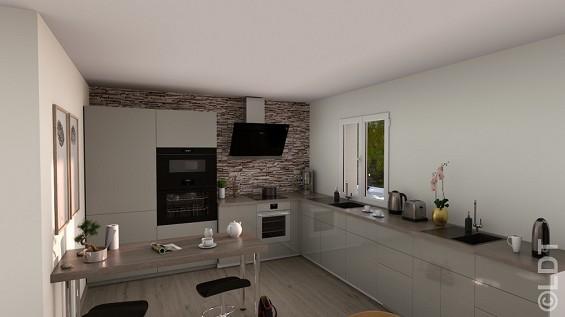 Maison à vendre .(93 m²)(VILLEVAUDE) avec (GROUPE LESTERLIN)