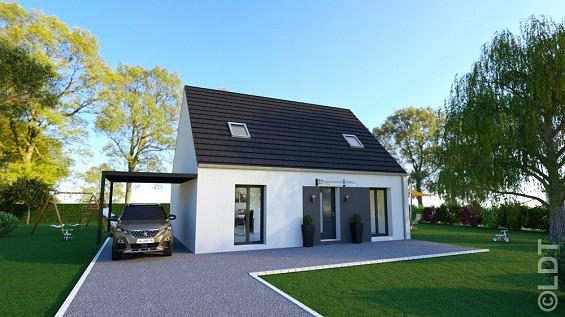 Maison à vendre .(93 m²)(DOMMARTIN) avec (GROUPE LESTERLIN)