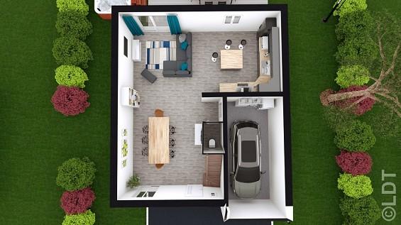 Maison à vendre .(95 m²)(AVRIGNY) avec (GROUPE LESTERLIN)