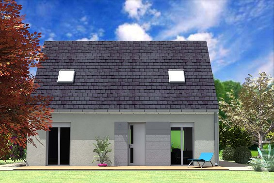 Maison à vendre .(93 m²)(COURPALAY) avec (GROUPE LESTERLIN)