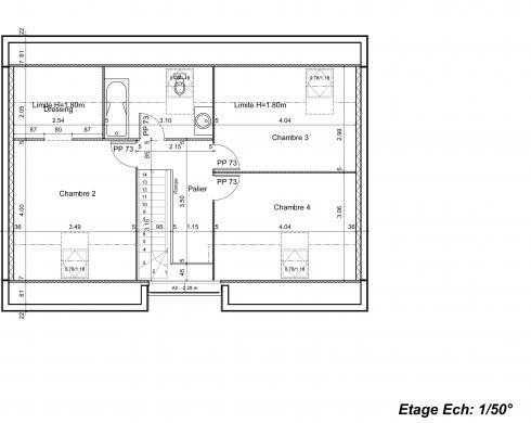 Maison à vendre .(104 m²)(BOISSY LE CHATEL) avec (GROUPE LESTERLIN)
