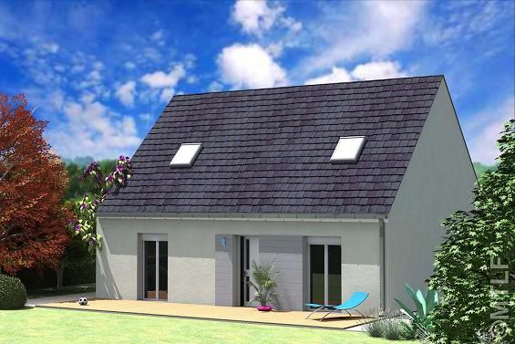 Maison à vendre .(101 m²)(AUBEPIERRE OZOUER LE REPOS) avec (GROUPE LESTERLIN)