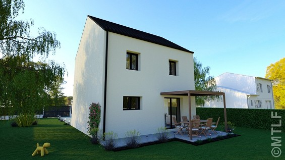 Maison à vendre .(84 m²)(LA QUEUE EN BRIE) avec (GROUPE LESTERLIN)