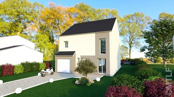 Maison à vendre .(95 m²)(NOISY LE GRAND) avec (GROUPE LESTERLIN)